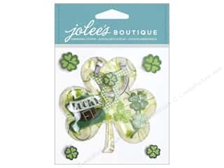 EK Success Saint Patrick's Day: Jolee's Boutique Stickers Shamrock Collage