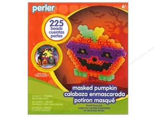 Weekly Specials Perler Fused Bead Kit: Perler Fused Bead Kit Trial Masked Pumpkin