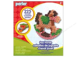 Weekly Specials Perler Fused Bead Kit: Perler Fused Bead Kit Trial Rocking Horse