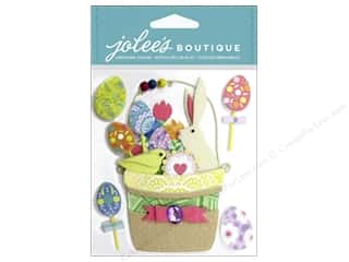 Scrapbooking Easter: EK Jolee's Boutique Easter Basket