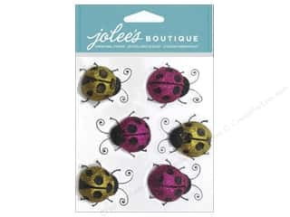 Jolee's Boutique Stickers Lady Bugs Repeat