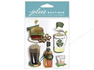 Kids Crafts St. Patrick's Day: EK Jolee's Boutique St. Paddy's Food and Drink