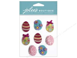 Scrapbooking Easter: Jolee's Boutique Stickers Easter Eggs Repeat