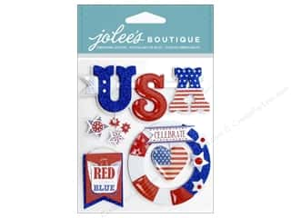 EK Jolee's Boutique USA Red White Blue