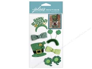 Saint Patrick's Day Crafts with Kids: EK Jolee's Boutique St. Patrick's Day Dress Ups