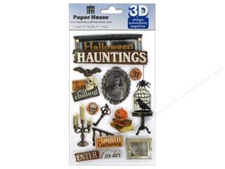 Weekly Specials Graphic 45 Paper Pad: Paper House Sticker 3D Halloween Haunting