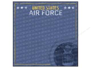 "Stamps Americana: Paper House Paper 12""x 12"" Air Force Emblem (25 pieces)"