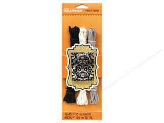EK Jolee's Boutique Embel Paper Twine Black/White