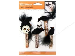 EK Success Halloween Spook-tacular: Jolee's Boutique Halloween Embellishments Vintage Mini Clips