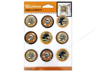 2013 Crafties - Best Adhesive: Jolee's Boutique Halloween Embellishments Vintage Baubles