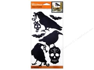 Halloween Spook-tacular EK Jolee's Boutique: Jolee's Boutique Stickers Chalk Silhouettes Black & White