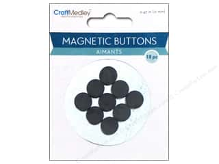Multicraft Magnetic Buttons 12mm 18pc