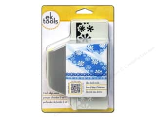 EK Paper Shapers 2 in 1 Edger Punch Snow Flurries