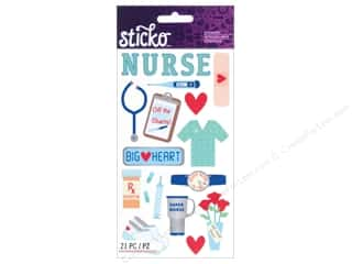 EK Sticko Stickers Registered Nurse