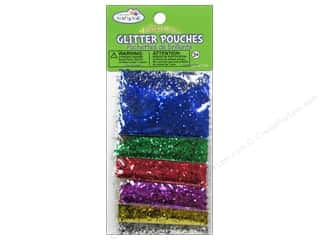 Multicraft Glitter Pouches 12g Mini Hexagon