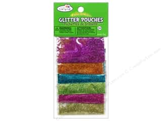 electric $4 - $6: Multicraft Krafty Kids Glitter Pouches 12g Fashion Glitter