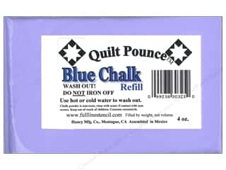 Sewing & Quilting Blue: Hancy Mfg Quilt Pounce Refill Chalk Blue 4oz