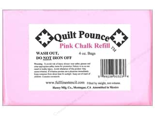 Hancy Quilt Pounce Refill Chalk 4 oz. Pink