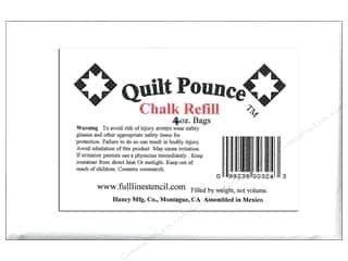 quilt pounce: Hancy Mfg Quilt Pounce Refill Chalk White 4oz