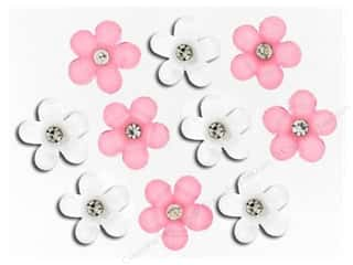 Non-Profits $5 - $8: Jesse James Dress It Up Embellishments Flowers for Hope
