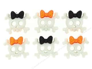 John James $6 - $8: Jesse James Dress It Up Embellishments Spooky Skulls & Bows