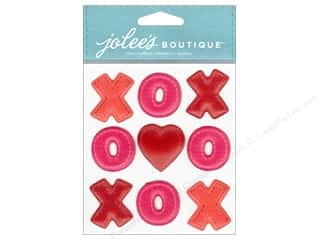 Love & Romance Back To School: Jolee's Boutique Embellishments XOXO Repeats