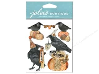 Jolee's Boutique Embellishments Vintage Ravens & Words