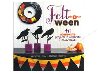 Felt Home Decor: Lark Felt-o-ween Book