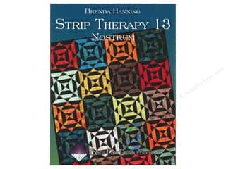 Bear Paw Productions Fat Quarter / Jelly Roll / Charm / Cake Books: Bear Paw Productions Strip Therapy 13 Nostrum Book by Brenda Henning