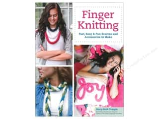 knitting books: Finger Knitting Book