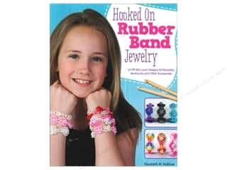 Hot off the Press Beading & Jewelry Books: Design Originals Hooked On Rubber Band Jewelry Book