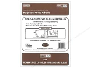 Pioneer Photo Album Inc $0 - $3: Pioneer Refill Page Magnetic Album LM-100 5pc
