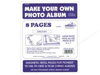 Pioneer Photo Album Inc Pioneer Photo Mount Square: Pioneer Refill Page Magnetic Album TR-100 4pc