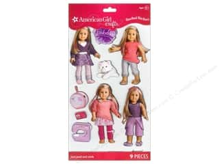 American Girl inches: American Girl Stacked Stickers Girl Of The Year 2014