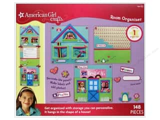 American Girl Stickers: American Girl Kit Room Organizer