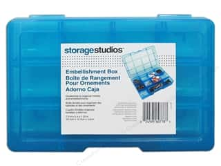 Storage Solutions 4 1/2 in: Storage Studios Embellishment Box