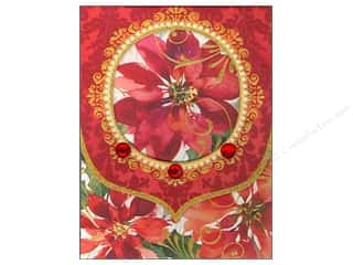 Punch Studio Note Pad Festive Flora Window Pocket