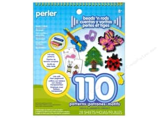 Stamping Ink Pads Beading & Jewelry Making Supplies: Perler Fused Bead Accessories Pattern Pad Bead 'n Rods Volume 5