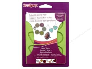 Molds Mold Release: Sculpey Flexible Push Mold Bakeable Silicone Bezel