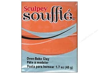 Sculpey Clay & Modeling: Sculpey Souffle Clay 1.7 oz. Pumpkin