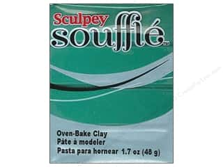 Sculpey Clay & Modeling: Sculpey Souffle Clay 1.7 oz. Jade