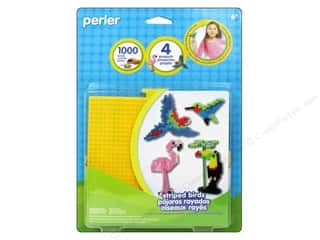 Perler Animals: Perler Fused Bead Kit Striped Birds