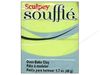 Finishes Clay & Modeling: Sculpey Souffle Clay 1.7 oz. Pistachio