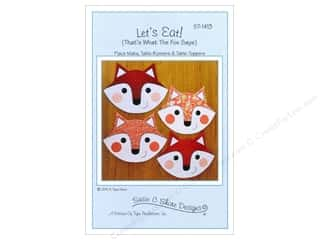 Susie C Shore Designs $2 - $5: Susie C Shore Let's Eat Pattern