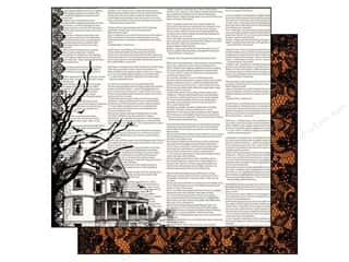 Authentique 12 x 12 in. Paper Spirited Eerie (25 piece)