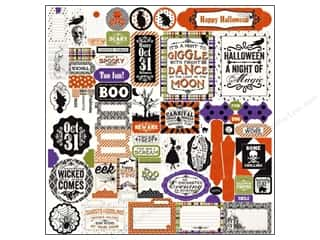 Authentique Stickers 12 x 12 in. Spirited Details (12 set)