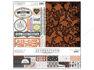 Theme Stickers / Collection Stickers: Authentique 12 x 12 in. Paper Spirited Collection Kit