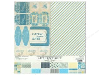 Authentique 12 x 12 in. Paper Sunkissed Collection Kit