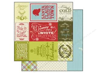 Authentique 12 x 12 in. Paper Believe Enhancements (25 piece)