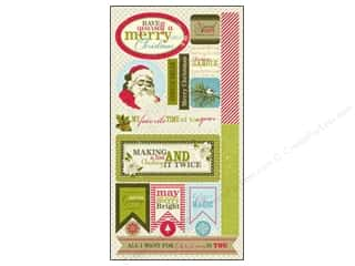 Authentique Die Cuts Believe Components (12 set)